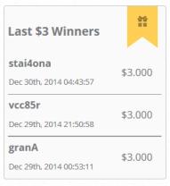 won-$3.000