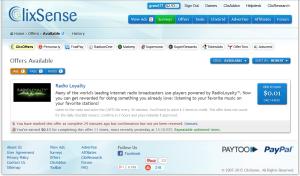 ClixSense, introducción y tareas a evitar